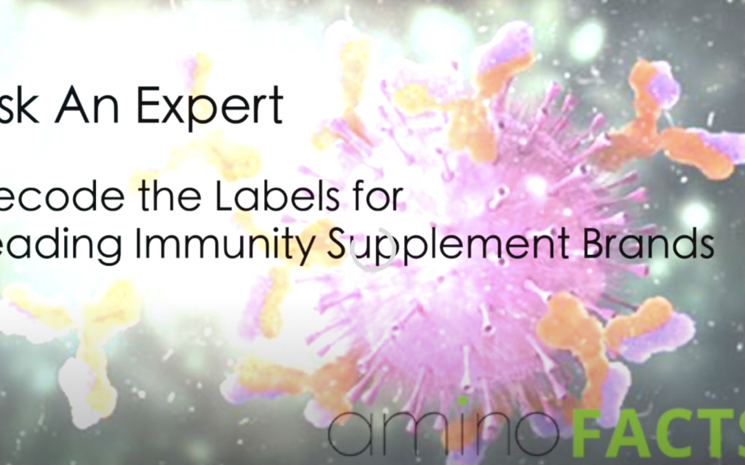 Decode the Labels for Leading Immunity Supplement Brands